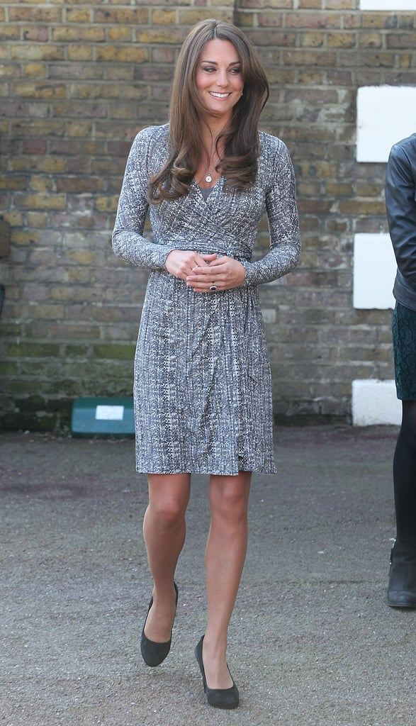 Kate Middleton visited Hope House in London.