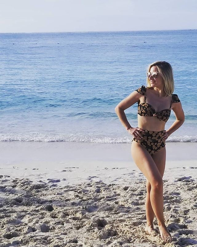 Kristen Bell's Montce Swim Bikini