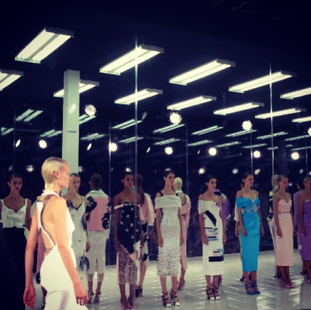 Lauren Santo Domingo sang Prabal Gurung's praises following the rosy show. Source: Instagram user thelsd