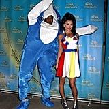 Kelly Ripa and Michael Strahan Halloween Costumes 2015