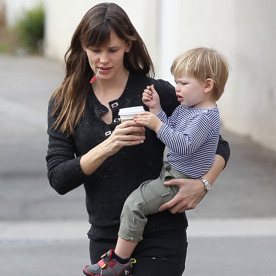 Jennifer Garner and Samuel Affleck at the Park in LA
