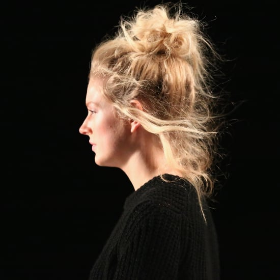 Bun Hair Trend Fall 2014 | New York Fashion Week