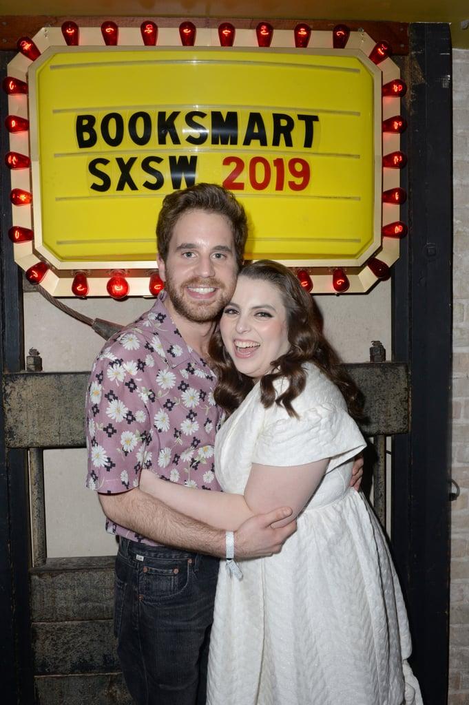 Ben Platt and Beanie Feldstein Friendship Pictures