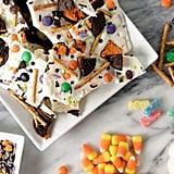 White Chocolate Halloween Bark