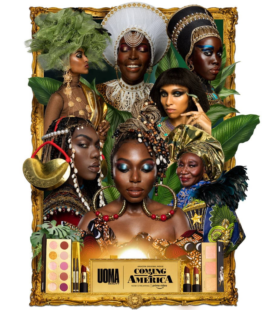 Uoma Beauty Black Magic Coming 2 America Makeup Collection