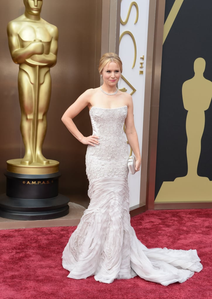 Kristen Bell at the 2014 Oscars