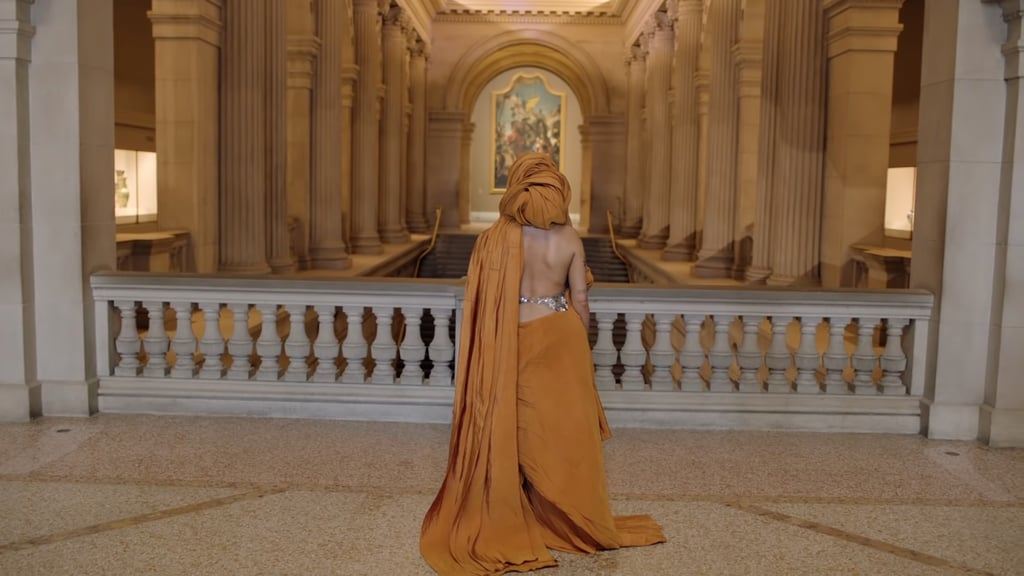 Halsey Wearing Schiaparelli at the Met