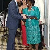 When Governor Dame Pearlette Louisy Locked Eyes With Harry