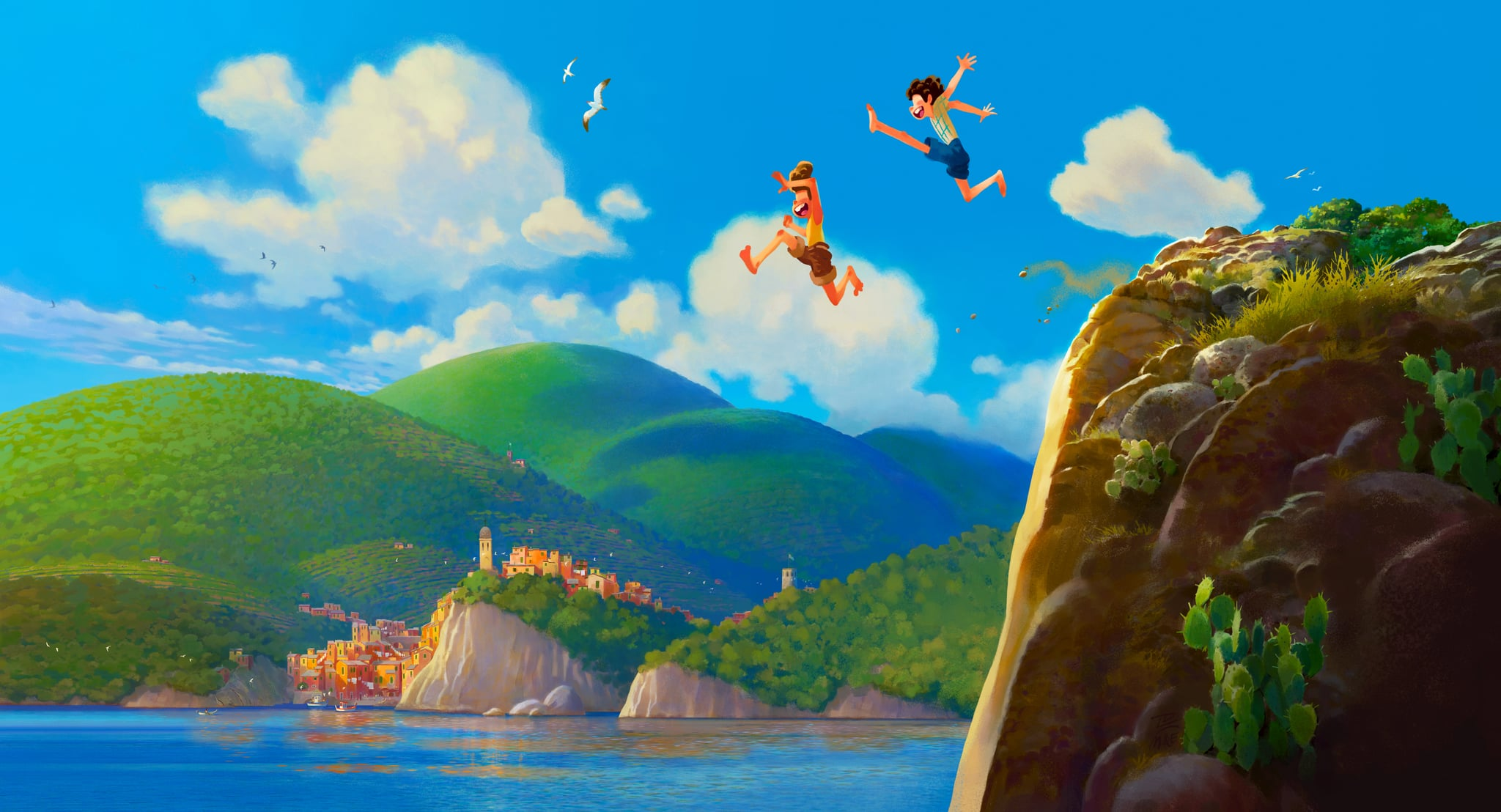 Set in a beautiful seaside town on the Italian Riviera, the Disney and Pixar original feature film,