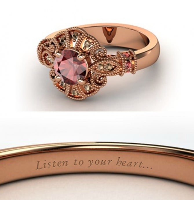 disney engagement rings popsugar love sex - Disney Inspired Wedding Rings