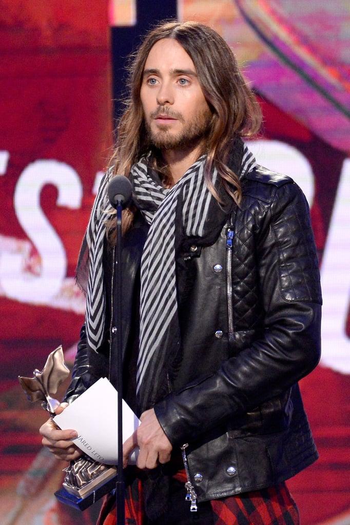 "Jared Leto Calls Lupita Nyong'o His ""Future Ex-Wife"""