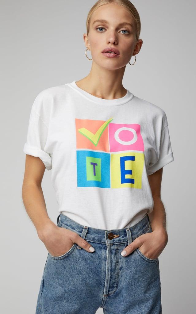 "Moda Operandi Exclusive X Prabal Gurung ""Vote"" Tee"