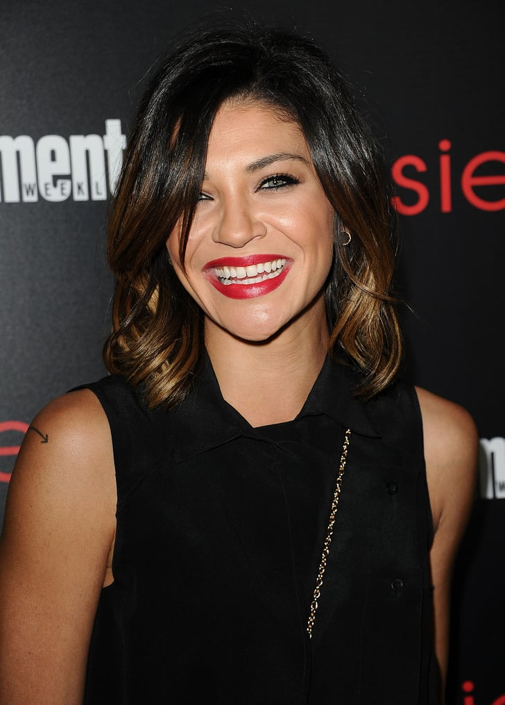 Jessica Szohr Sag Awards Parties Hair And Makeup 2014