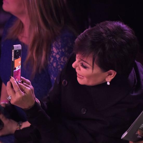 Kris Jenner at the Victoria's Secret Fashion Show 2015