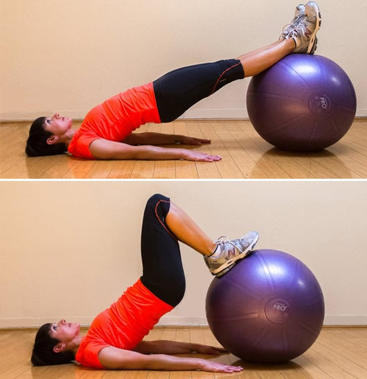 Stability Ball Hamstring Curl T Nation: Harley Pasternak's Favorite 25