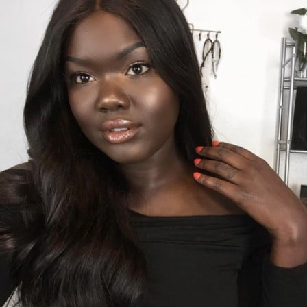 Vlogger Nyma Tang Tries Darkest Shade of Foundation