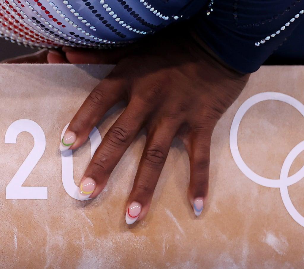 Simone Biles's Nail Art at the 2021 Tokyo Olympics