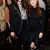 Liv Tyler and Julianne Moore smiled in support of their buddy Stella.