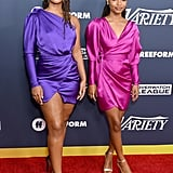 Chloe x Halle Wearing Rhea Costa at Variety's Power of Young Hollywood Event