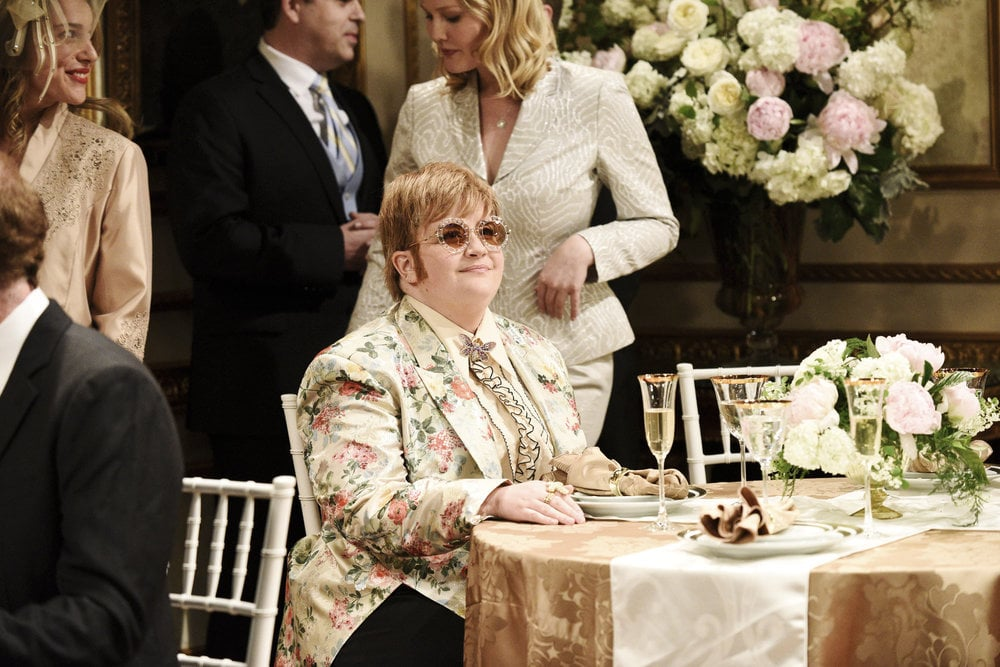Aidy Bryant As Elton John Snl Halloween Costumes 2018 Popsugar