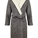John Christian Men's Hooded Fleece Robe