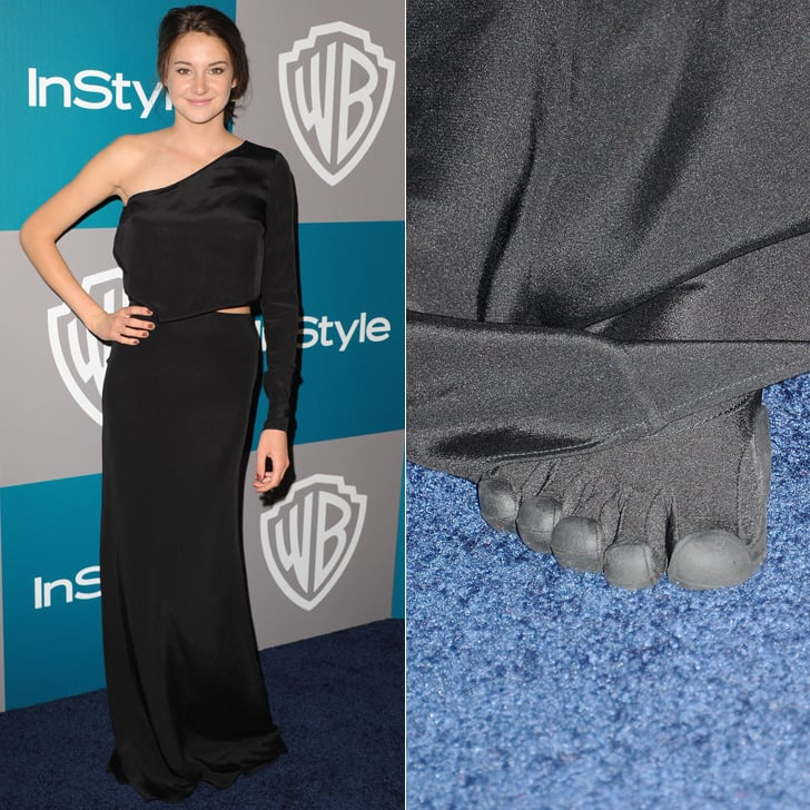 Shailene Woodley at the 2012 Golden Globes Afterparty