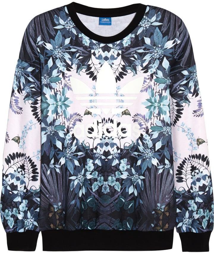 Adidas Printed Jersey Sweatshirt