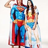 Superman and Wonder Woman Ponchos