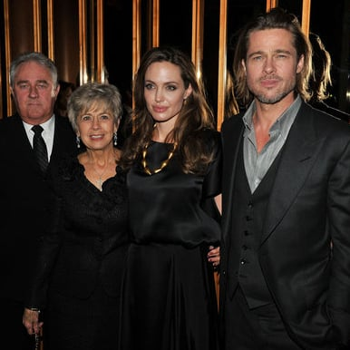 Angelina Jolie, Brad Pitt and Brad Pitt's Parents at In the Land of Blood and Honey After Party Pictures