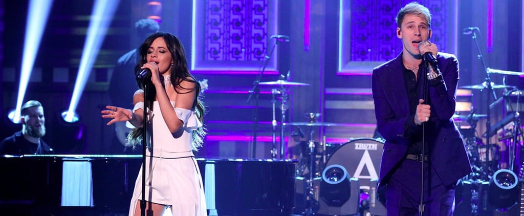 Camila Cabello and Machine Gun Kelly on The Tonight Show