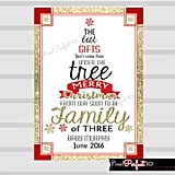 Gifts Under the Tree Christmas Card