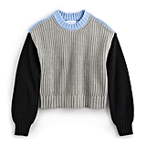 POPSUGAR at Kohl's Colorblock Crewneck Sweater