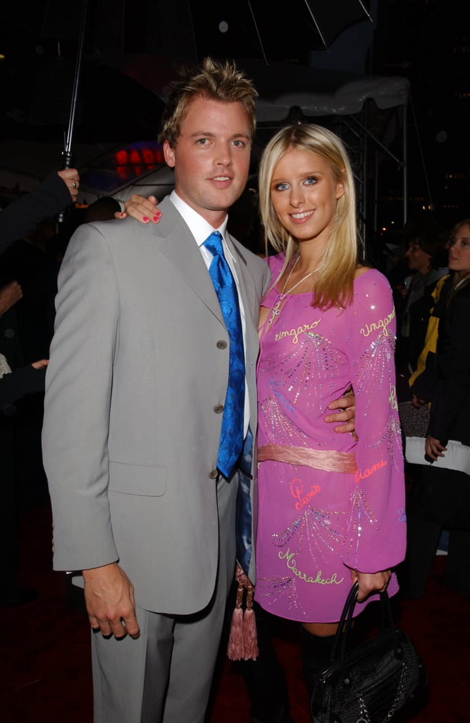 Nicky Hilton and Brian McFayden, 2002