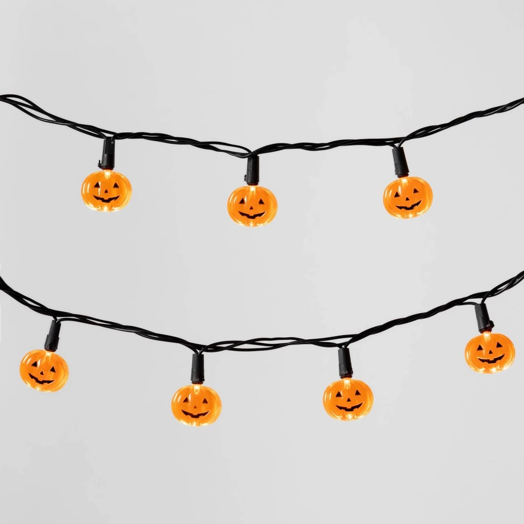 LED Pumpkin Halloween String Lights