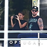 Nicole Richie and Joel Madden Make Time For Magic in Italy