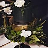 Slytherin-Inspired Wedding Cake