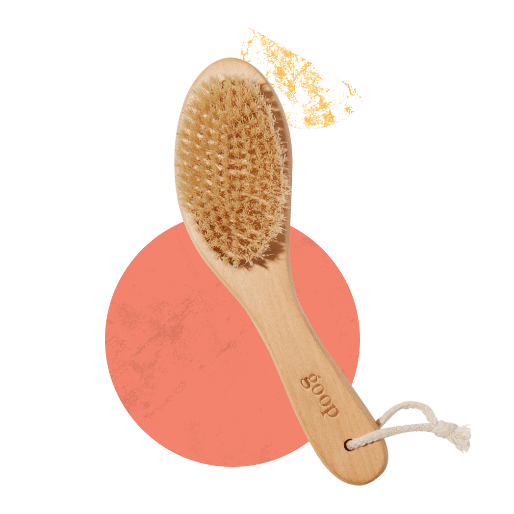 Dry Brush Your Entire Body Before a Shower