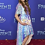 Angelica Hale at the Frozen 2 Premiere in Los Angeles