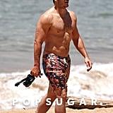 Chris Pratt Still Looks Really Good Shirtless
