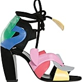 Colorblock and Candy Colored Shoes
