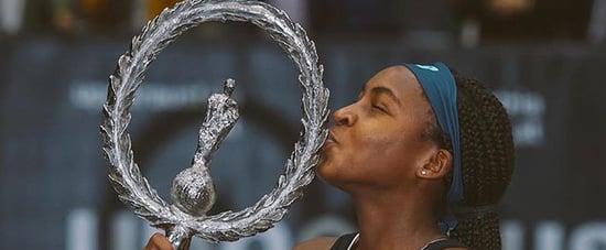Coco Gauff Wins Her First WTA Singles Title