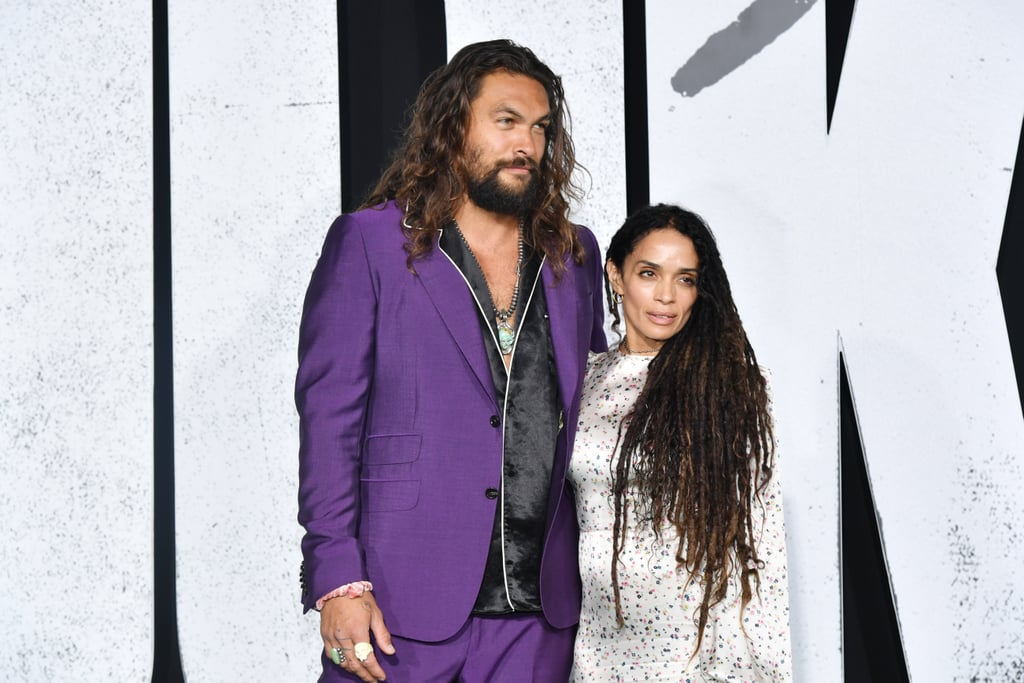 Jason Momoa and Lisa Bonet at Joker Premiere Pictures