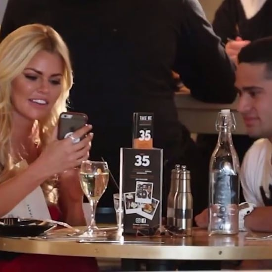 Video of Sophie Monk Pranking Waiter