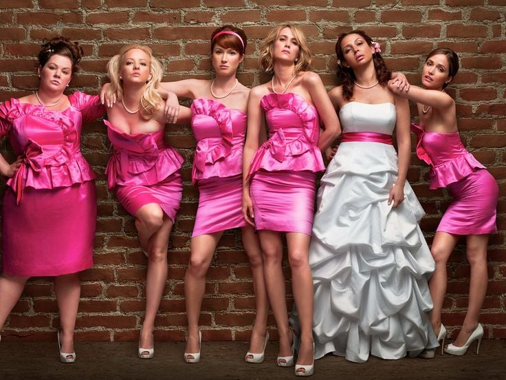 Bad Bridesmaid Dress