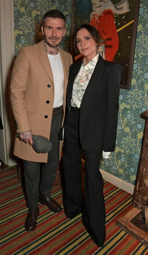 ديفيد وفكتوريا بيكهام في حدث عرض أزياء فيكتوريا بيكهام وحفل يوتيوب