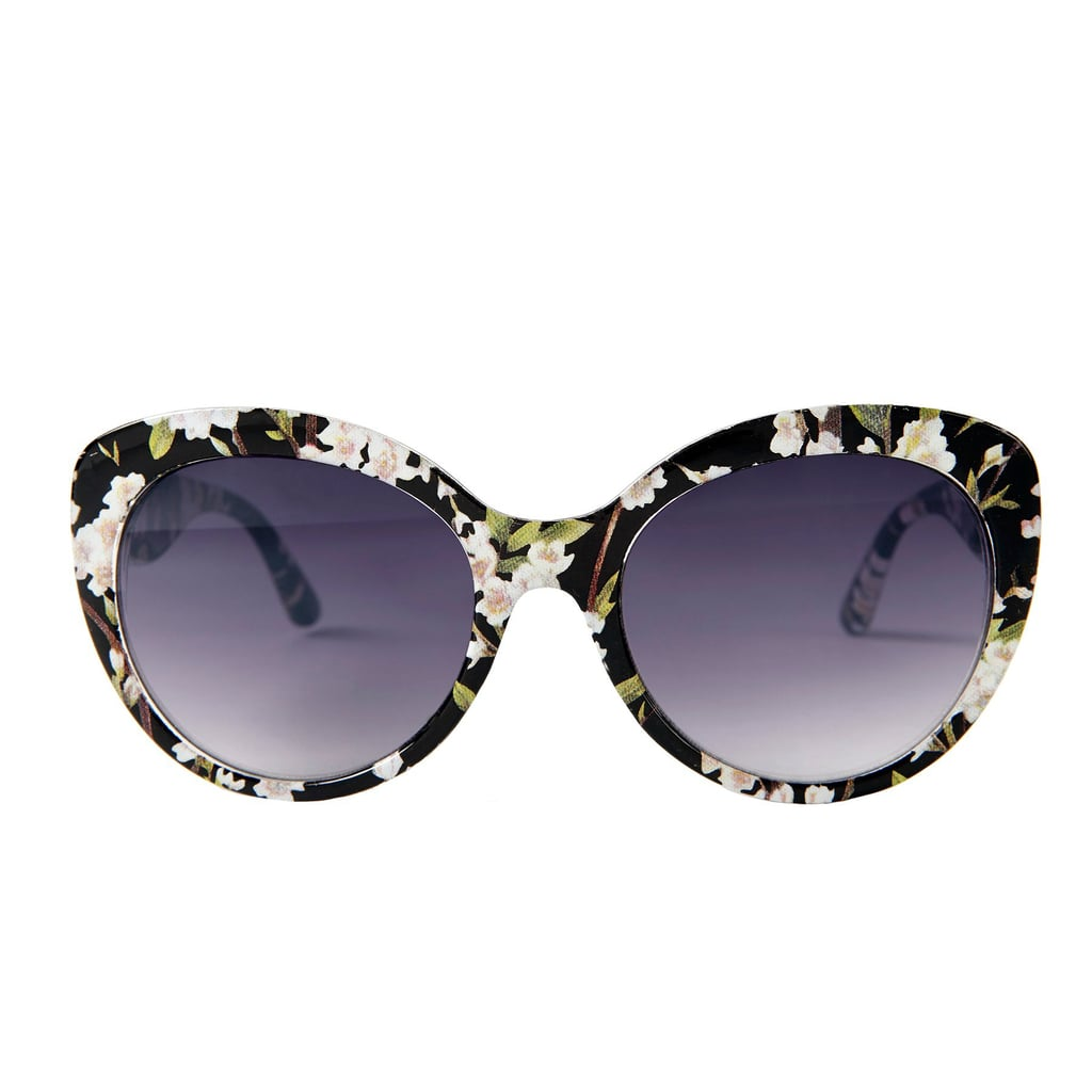 Target Oversized Sunglasses With Flowers