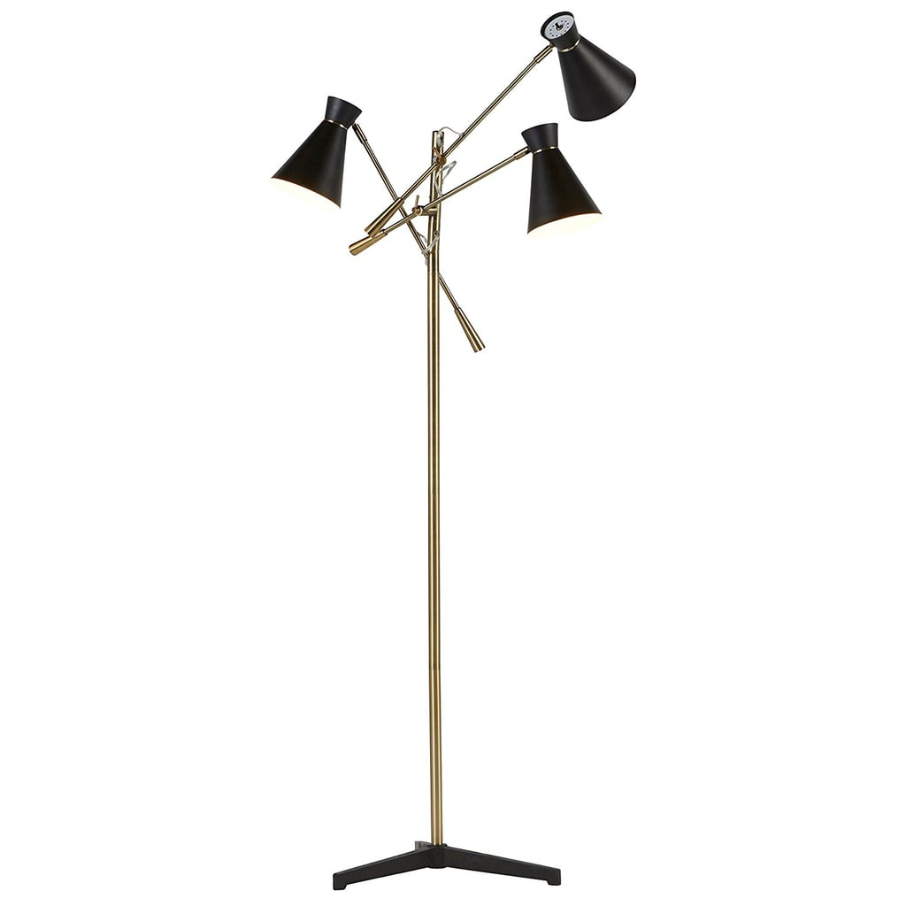 Retro 3-Arm Floor Lamp With Bulbs ($189)