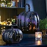 Constellation Pumpkins Make For Magical Halloween Decor