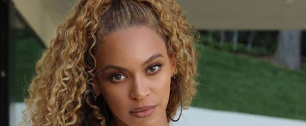 Beyoncé Wears Dark Lip Liner