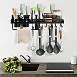 Besy Multifunctional Kitchen Wall Storage Pot Lid Rack
